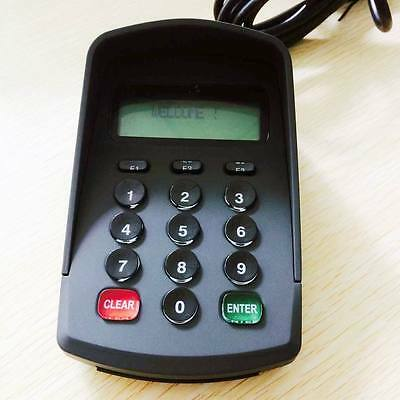 Serial Programmable POS PinPad Password Keyboard Numeric Keypad With LCD