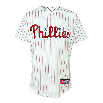 MLB Baseball Trikot Jersey PHILADELPHIA PHILLIES - Home white - von Majestic