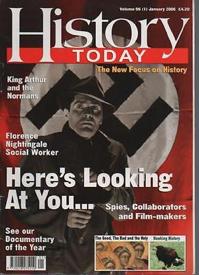 HISTORY TODAY MAGAZINE - Volume 56 (1) January 2006 'Here's Looking At You...'