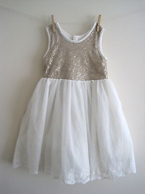 New girls ex m*care party occ dress bridesmaid age 2-3 4-5 5-6 6-7 7-8 8-9 years