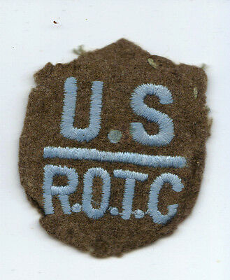 """Pre-1940 """"T-Patchers"""" 36th Infantry Division ROTC Patch Embroidery on felt"""