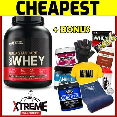 OPTIMUM NUTRITION 100% WHEY 5LB ROCKY ROAD // GOLD STANDARD 5lbs WPI WPC ON