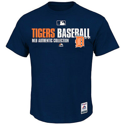 MLB Baseball Team Favorite T-Shirt DETROIT TIGERS - Authentic Collection