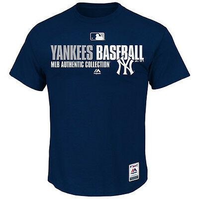 MLB Baseball Team Favorite T-Shirt NEW YORK NY YANKEES - Authentic Collection