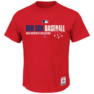 MLB Baseball Team Favorite T-Shirt BOSTON RED SOX - Authentic Collection