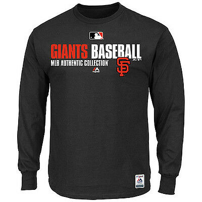 MLB Baseball Favorite Longsleeve Shirt SAN FRANCISCO GIANTS Authentic Collection