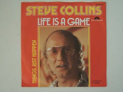 "Steve Collins - Life Is A Game  7"" Vinyl Single"