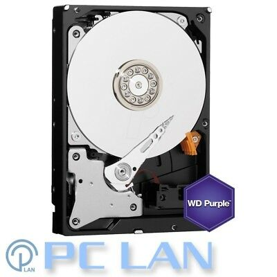 "WD Purple 2TB Surveillance AV-GP SATA-6Gb 64MB 3.5"" Internal Hard Drive WD20PURZ"