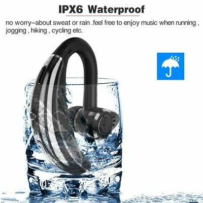 Waterproof Sport Bluetooth V4.0 Wireless Stereo Headset MIC for Galaxy S3 S4 S5