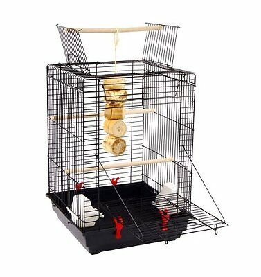NEW Liberta UK 58 by 40 by 40cm Okran Bird Cage with Open Top  Medium