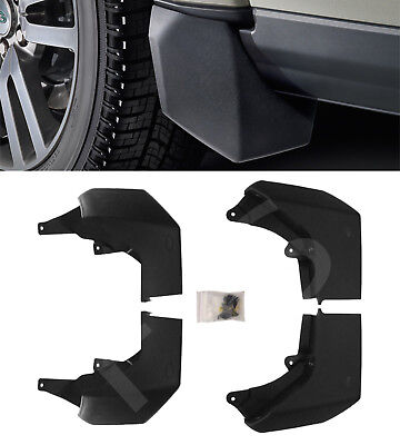 Land Rover Discovery 4 (Lr4) Oem Style Front & Rear Mudflap Set Steps Dis4Mf