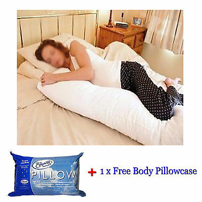 BODY Pillow + Pillowcase 48x150cm - MADE IN AUSTRALIA