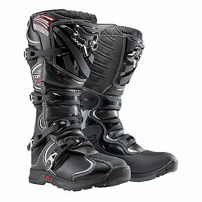 2015 Fox Racing Adult Mens MX Motocross Comp 5 Boots Black