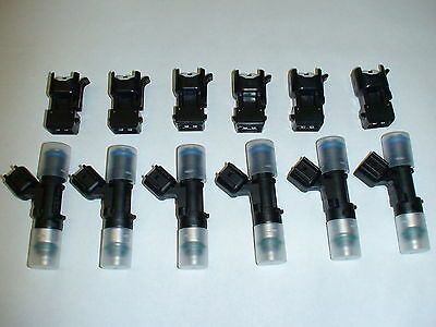 6 NEW Bosch EV14 60lb 630cc 60# fuel injectors 2.7TT turbo Audi B5 S4 A6 allroad