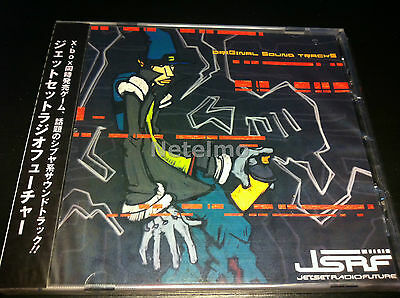 8167 JET SET RADIO FUTURE JSRF ORIGINAL Music SOUNDTRACK CD New ALCA X Box