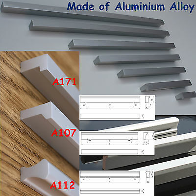 Kitchen Door Cupboard Cabinet Drawer Aluminium Handles 40-340mm