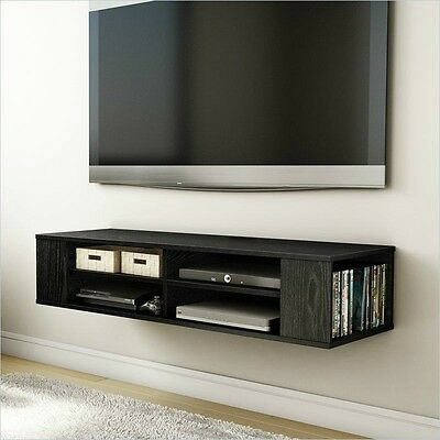 ... Wall Mount Cabinet In Entertainment Center Cd Dvd Storage Single Wall