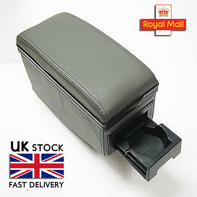 Universal Grey Armrest Centre Console Fits Vauxhall Opel Corsa C D Tigra