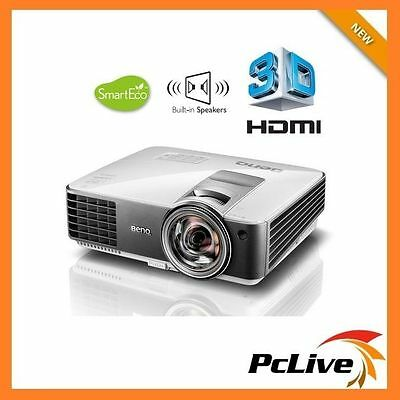 BenQ MW824ST 13000:1 DLP Projector 3200 Lumens 3D HD HDMI Speaker Short Throw