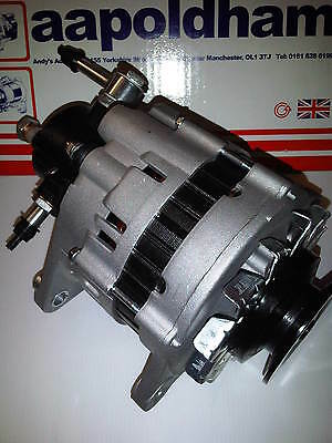 Isuzu Trooper 3.1 Td Diesel 1991-1998 Brand New 80A Alternator & Brake Vac Pump