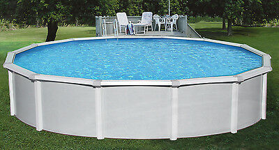SAMOAN STEEL ABOVE Ground Swimming Pool Kit 52\