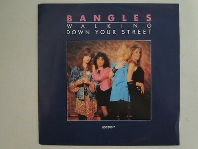 "Bangles - Walking Down Your Street  7"" Vinyl Single"