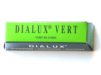 Jewellers Dialux Vert-Green- Rouge Polishing Compound Platinum Stainless Steel