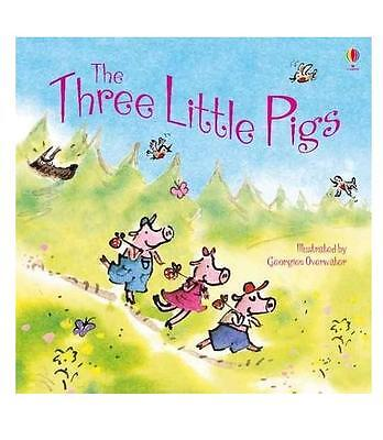 The Three Little Pigs Usborne Picture Book - New Paperback Edition - R.R.P £4.99