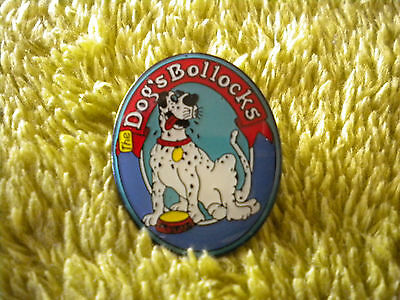 Dogs Bollocks - Wychwood Brewery Enamel Pin Badge