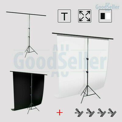 Photography Studio Heavy Duty Backdrop Stand Screen Background Support KIT+BAG