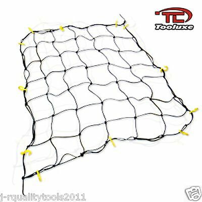 6' x 8' NYLON BUNGEE PICKUP TRUCK BED CARGO HOLD NET