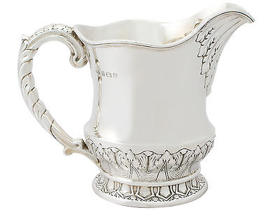 Sterling Silver Water / Cordial Jug by Elkington & Co Ltd - Antique George V