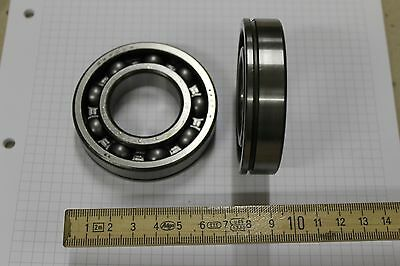 DDR Rillen-Kugellager 6207N 6207 Ringnut erhöhte Lagerluft 35x72x17mm #AS-B06