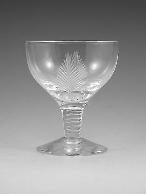 """STUART Crystal - WOODCHESTER Cut - Cocktail Glass / Glasses - 3 1/4"""" (2nd)"""
