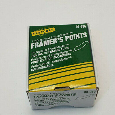 Fletcher 08-950 Framers Points x 3000 for Framemaster
