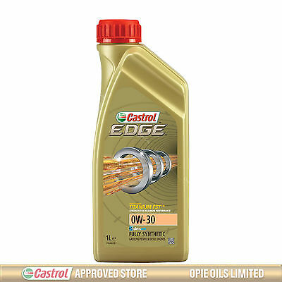 Castrol Edge TITANIUM 0W-30 FST Synthetic Engine Oil 0W30 1 Litre 1L