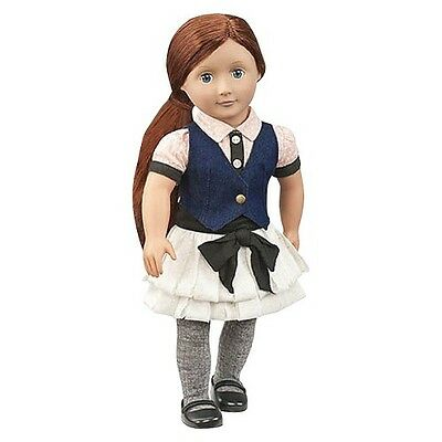 """Our Generation 18"""" Doll with Jean Vest - Ayla"""