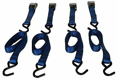 Highland 6' Cambuckle Tie Down 92106, Pack of 4, New, Free Shipping