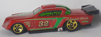 2009 Hot Wheels Modified Rides At-A-Tude-Metal Flake Red Paint