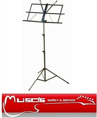Music Stand, Black with carry bag $29