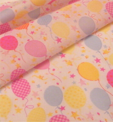 Printed Polyester Cotton - Balloons