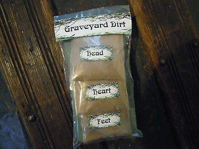 Graveyard Dirt Spells Supplies Spells Magic Witchcraft Ritual Protection Travel