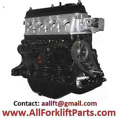 New Complete 4Y Toyota Engine Forklift Long Block Motor Free Shipping
