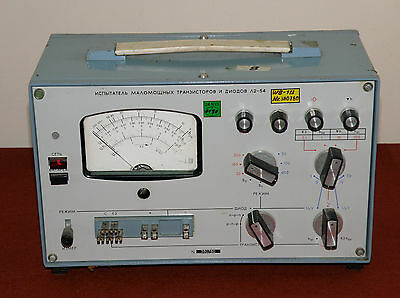 Military semiconductor device analyzer, circuits parameters meter L2-54 Tested