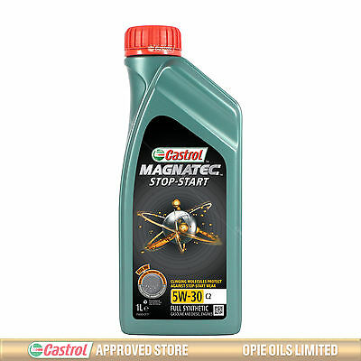 Castrol Magnatec Stop-Start 5W-30 C2 Fully Synthetic Car Engine Oil 5W30 1 LITRE