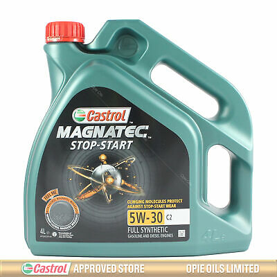 Castrol Magnatec 5W-30 C2 Fully Synthetic Engine Oil 5W30 - 4 LITRES 4L