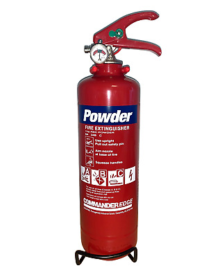 Brand New 2 X 1Kg Dry Powder Fire Extinguisher For Home/office/car/boat