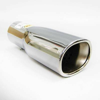 Exhaust Tail Pipe Tip Muffler Trim Chrome Fits Peugeot 106 206 306 406 309 407