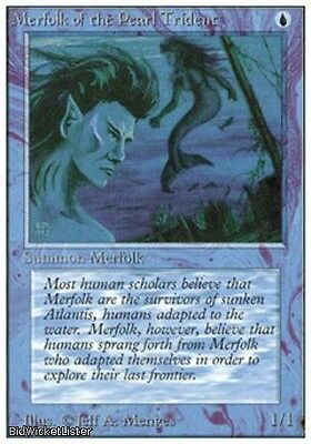 Merfolk of the Pearl Trident (Common) Near Mint Normal English - Magic the x2