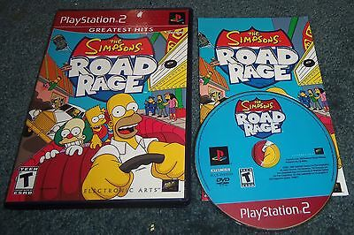 The Simpsons Road Rage Playstation 2 Complete